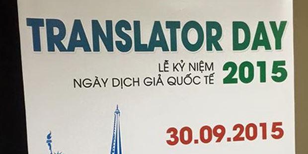 """Dịch thuật quốc tế - chuyện """"người trong cuộc"""""""