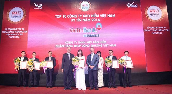 Bảo hiểm VietinBank (VBI) nằm trong Top 10 công ty bảo hiểm uy tín nhất Việt Nam