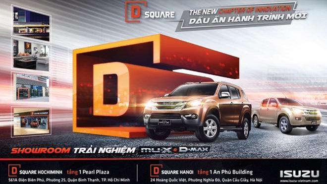 """Mở D Square - dấu hiệu Isuzu """"đặt cược"""" vào chiến lược phát triển mới"""