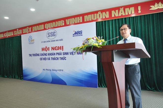 """Tiến sĩ Nguyễn Sơn: """"Hợp đồng tương lai chỉ số chứng khoán là lựa chọn ưu tiên cho TTCK phái sinh"""""""