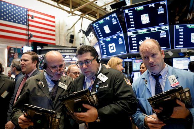 Phố Wall suy yếu sau biên bản họp từ Fed