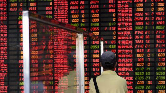 Chứng khoán Trung Quốc xóa bớt đà giảm vào cuối phiên