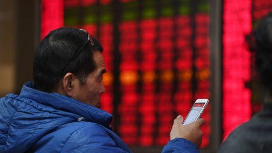 Sắc đỏ ùa về chứng khoán châu Á, Shanghai và Hang Seng giảm hơn 1%