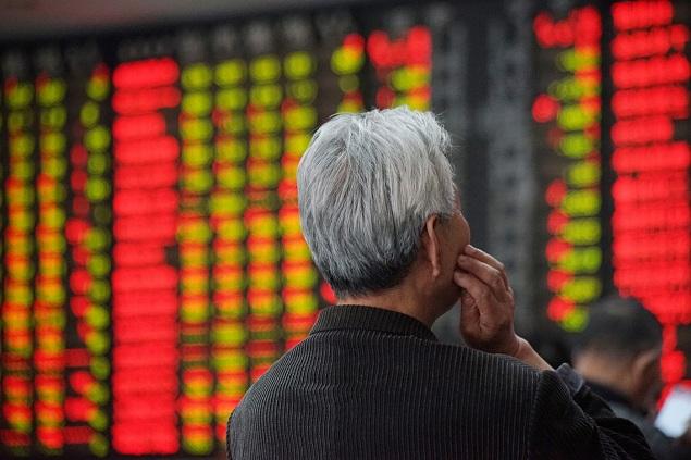 Chứng khoán Trung Quốc đi ngược với xu hướng tăng của châu Á