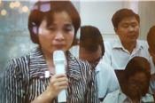 Vợ Nguyễn Xuân Sơn nguyện sử dụng tối đa khả năng để chồng hưởng khoan hồng