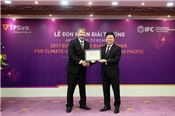TPBank nhận giải ngân hàng tốt nhất về tài trợ dự án thích ứng biến đổi khí hậu