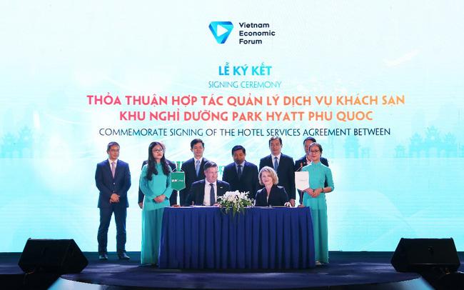 BIM Land và tập đoàn Hyatt ký kết thỏa thuận hợp tác tại diễn đàn cấp cao du lịch Việt Nam 2019