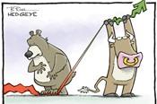 Cổ phiếu lớn lại lao dốc, VN-Index giảm gần 14 điểm