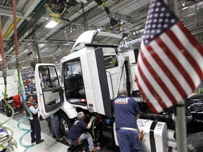 Tăng trưởng kinh tế Mỹ trong quý 1 cao hơn so với dự báo