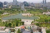 Đề xuất xén công viên Cầu Giấy làm bãi xe, trung tâm thương mại