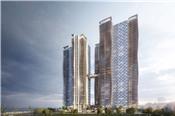 Hòa Bình tiếp tục thi công giai đoạn 2 tòa nhà cao nhất Đà Nẵng