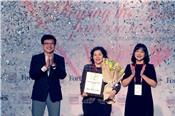 """Bà Mai Kiều Liên là người phụ nữ duy nhất được Forbes Việt Nam vinh danh giải thưởng """"Thành tựu trọn đời"""""""