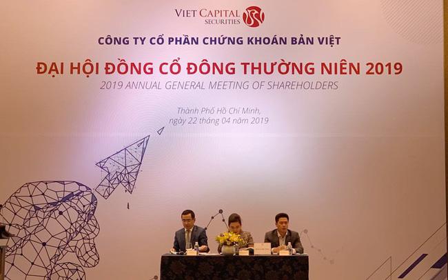 Chứng khoán Bản Việt (VCSC): Lợi nhuận trước thuế cả năm đạt 1.011 tỷ đồng năm 2018, đặt mục tiêu tiếp tục nằm trong các công ty có thị phần lớn nhất HSX năm 2019