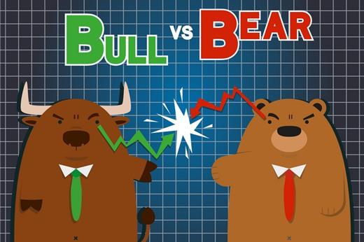 """Chứng khoán Mỹ: Phe """"gấu"""" hay phe """"bò"""" sẽ thắng thế?"""