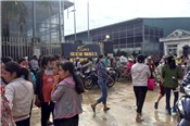 Hàng nghìn công nhân Công ty TNHH Ivory Việt Nam ngừng việc tập thể trong 4 ngày