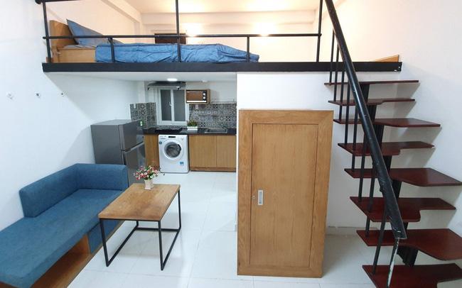 Nhà giàu Hà Nội kiếm 100 triệu mỗi tháng từ xây căn hộ mini cho thuê