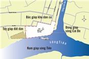 Kiểm tra dự án lấp sông Tiền xây công viên trái cây