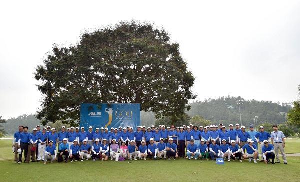 ALS tổ chức thành công giải Golf