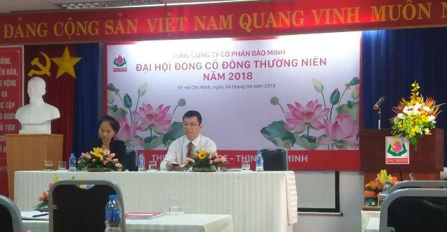 ĐHĐCĐ Bảo Minh: Đa dạng hóa bảo hiểm cháy nổ sau vụ cháy Carina, tăng tiền đầu tư chứng khoán trong năm 2018
