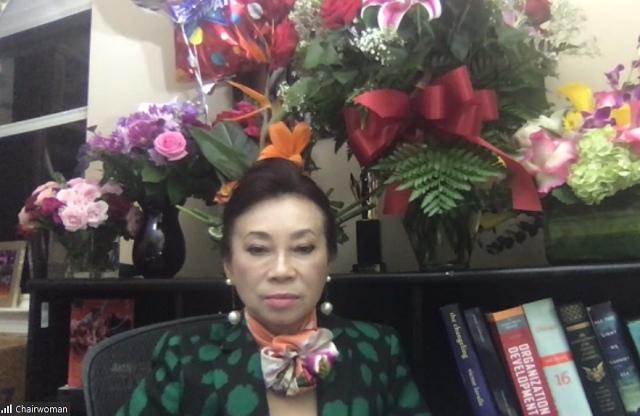 ĐHĐCĐ ITA: Chủ tịch Đặng Thị Hoàng Yến xuất hiện trực tuyến trước cổ đông