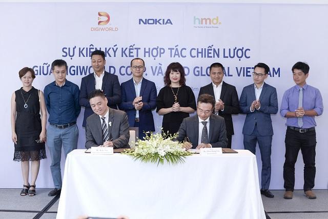 Digiworld hợp tác trở lại với Nokia