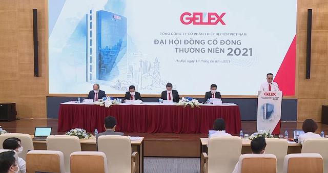 ĐHĐCĐ Gelex: Mục tiêu lãi trước thuế 2021 đạt 1,285 tỷ đồng