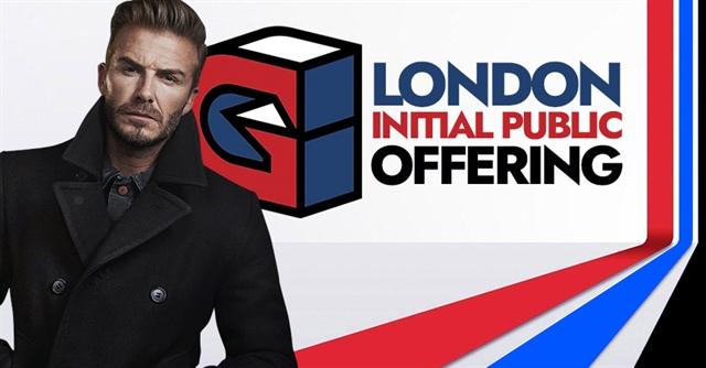 Công ty thể thao điện tử của David Beckham sắp IPO ở London