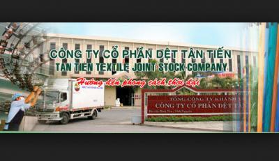 Khatoco quyết tâm bán đấu giá gần 5 triệu cp Dệt Tân Tiến