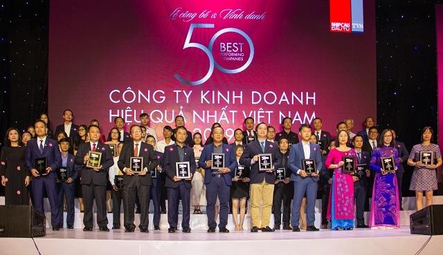 Phát Đạt đứng thứ 06 trong Bảng xếp hạng '50 Công ty Kinh doanh Hiệu quả nhất Việt Nam 2019'