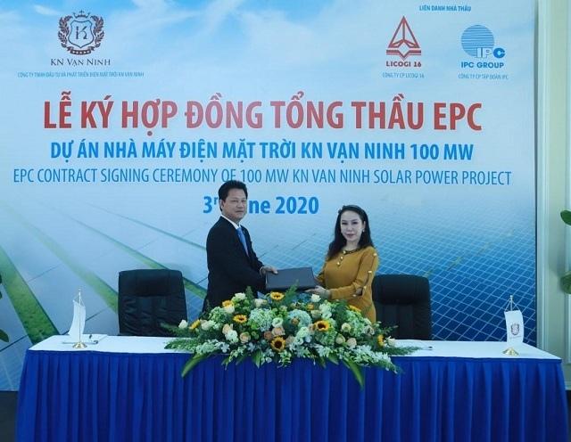LICOGI 16 (LCG) làm tổng thầu EPC dự án điện mặt trời vốn đầu tư hơn 1,500 tỷ đồng