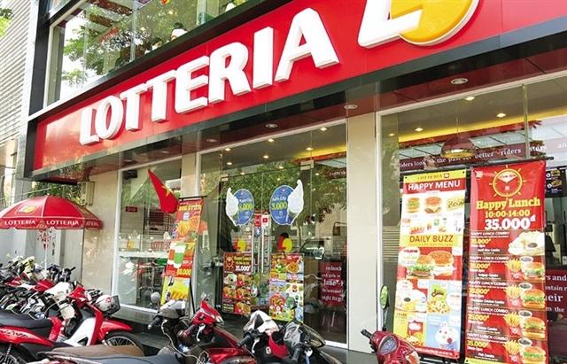 Chuỗi thức ăn nhanh Lotteria Việt Nam sắp đóng cửa?