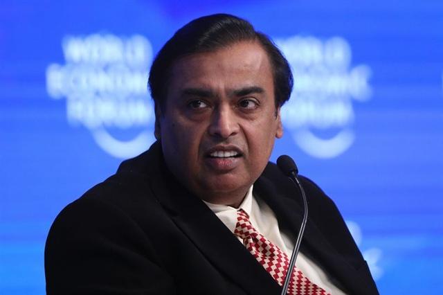 Ông trùm Ấn Độ Mukesh Ambani giàu hơn những gã khổng lồ từ Thung lũng Silicon