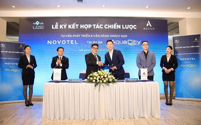 Novaland hợp tác với Accor để phát triển thương hiệu Novotel tại khu đô thị Aqua City