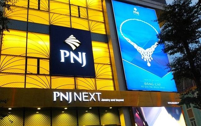 Doanh thu kênh bán sỉ của PNJ sụt 40% trong tháng 8