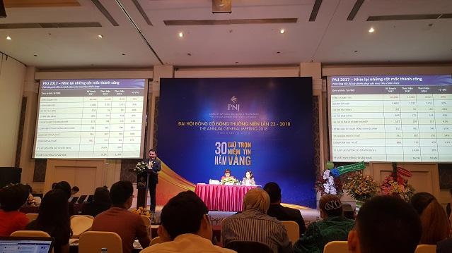 ĐHĐCĐ PNJ: Sự cố của Ngân hàng Đông Á không ảnh hưởng đến PNJ