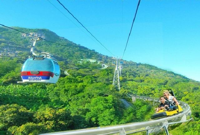 Cáp treo Núi Bà Tây Ninh tạm dừng cáp treo và xe trượt ống để phòng dịch