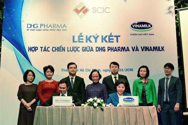 Vinamilk và Dược Hậu Giang hợp tác phát triển sản phẩm mới