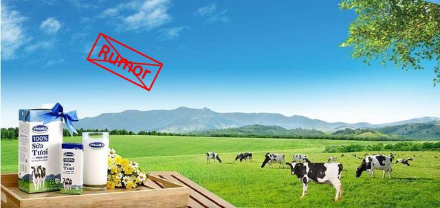 Vinamilk bác tin đồn thất thiệt về nguồn nguyên liệu để sản xuất sữa