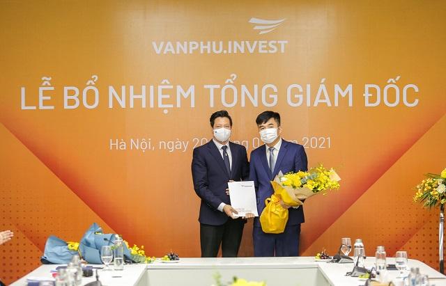 Văn Phú - Invest bổ nhiệm Tổng Giám đốc mới