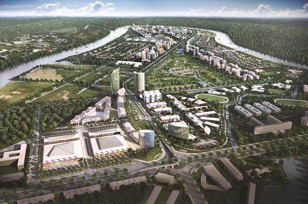 Nam Long chính thức hợp tác phát triển 165 hecta giai đoạn 1 khu đô thị Waterpoint