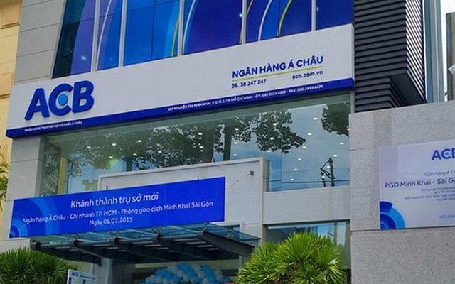 ACB được chấp thuận tăng vốn điều lệ lên 21,616 tỷ đồng