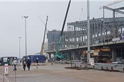Tết đặc biệt ở công trường xây dựng sân bay 7.000 tỷ đồng