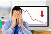 Áp lực bán mạnh, VN-Index giảm gần 13 điểm