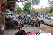 Cướp ngân hàng ở TP HCM: Nghi phạm đốt xe máy trước khi tẩu thoát