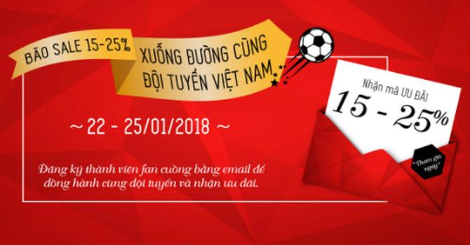 Hàng quán đua giảm giá cho người tên Dũng ăn theo U23 Việt Nam