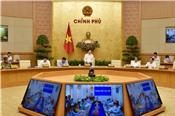 Chính phủ họp trực tuyến toàn quốc về tình hình triển khai thi hành Luật Quy hoạch