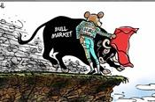 Cổ phiếu ngân hàng bất ngờ lao dốc, thị trường tăng điểm nhẹ
