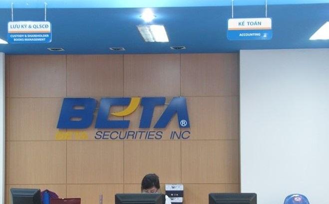 Chứng khoán Beta bị phạt cho khách hàng vay margin quá tay