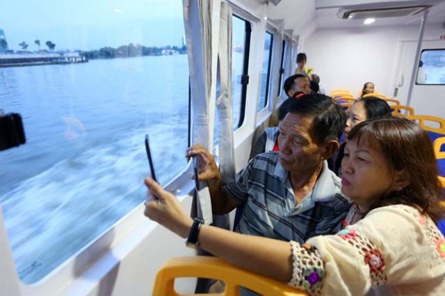 Kéo dài thời gian triển khai tuyến buýt sông số 2