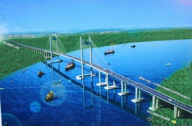 Hơn 8.000 tỉ đồng xây cầu Cần Giờ